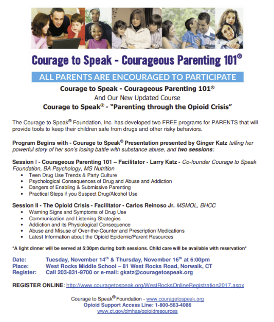 Courage to Speak - Courageous Parenting 101®