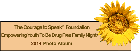 Couage to speak drug free family night 2014