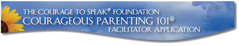 facilitator application banner
