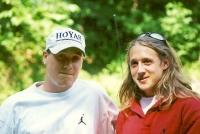 Ian with his dear friend Jason.