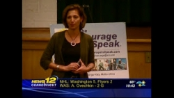 The Courage To Speak ® Foundation - Connecticut News12 - Courageous Parenting 101®