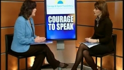 Ginger Katz's interview on News Channel 12 Education Notebook with Amelie Wilson
