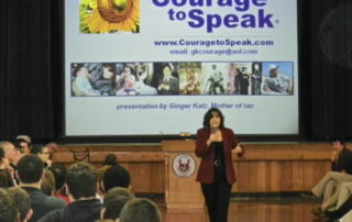 Ginger Katz, CEO and Founder of the Courage to Speak