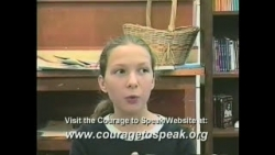 The Courage To Speak ® Foundation Teen Drug Prevention Video
